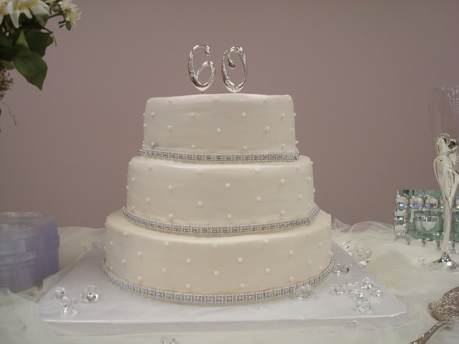 Love Quot Eden Quot Cake 60th Anniversary Cake