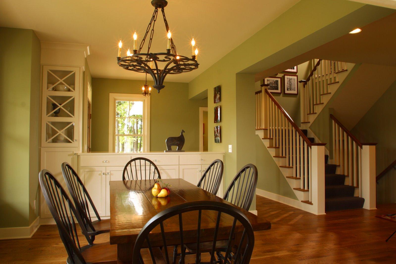 Cottage Dining Room Interior Design