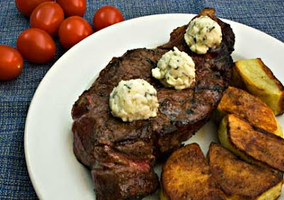 Tuscan Steak and Oven Roasted Potatoes