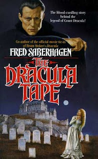 Book cover to The Dracula Tapes by Fred Saberhagen