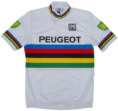6b760c580 Tom Simpson s World Champion jersey.