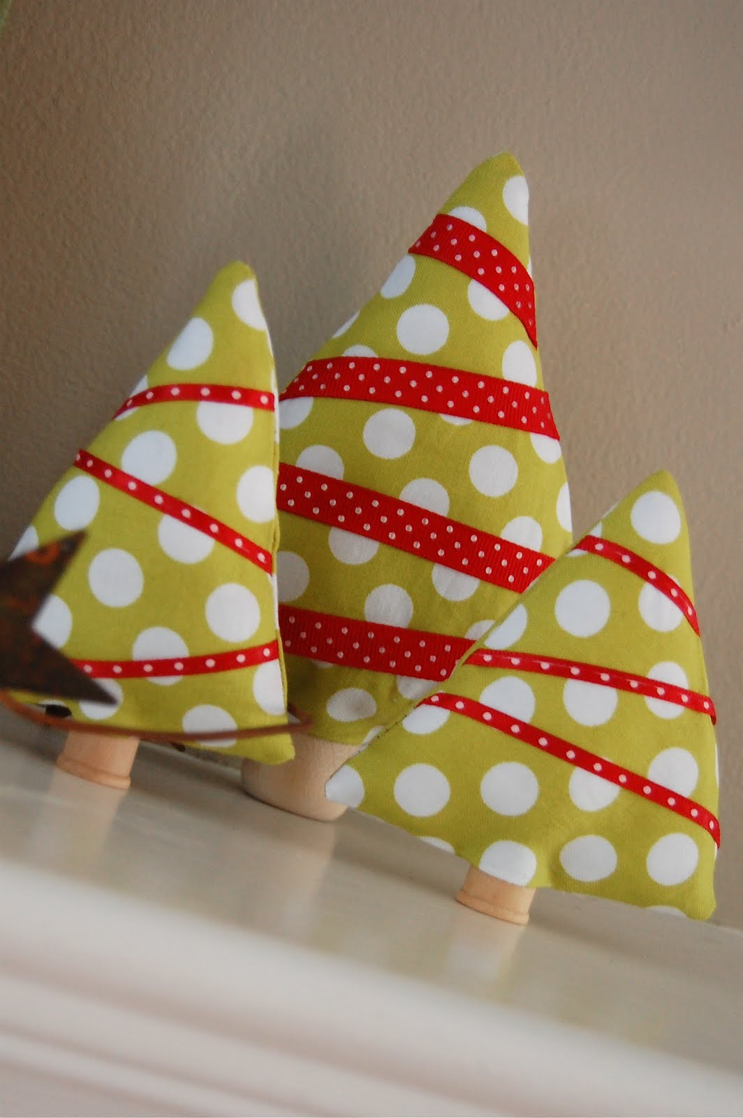 Tutorial sapins de Noel DIY