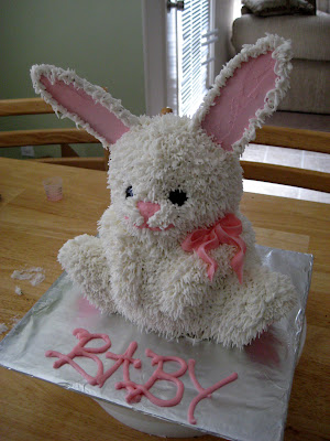 The Cake Cow Baby Bunny