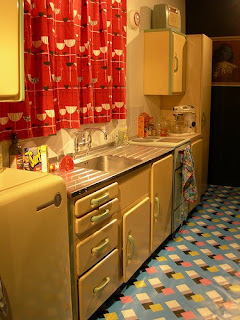 Linoleum Kitchen Cabinets