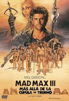 Mad Max 3: Más Allá De La Cúpula Del Trueno Pelicula Poster