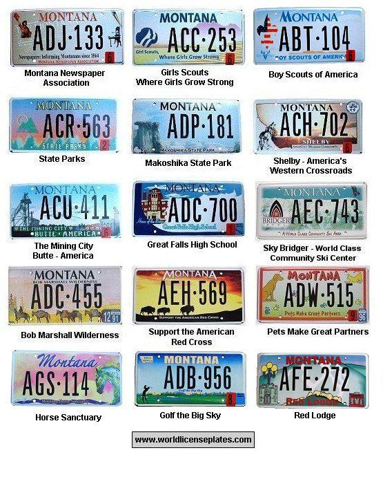 Montana License Plates   Berkshire Hathaway HomeServices