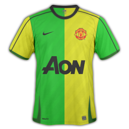 new concept 4cda6 14ce6 Manchester United 2010 -11 Home & Away Kit | One For All