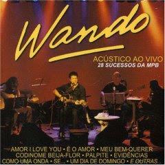 Cd Wando - Acústico Ao Vivo - Cd Duplo