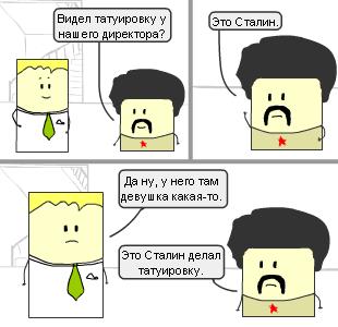 Сюжеты #82. Про татуировку и Сталина