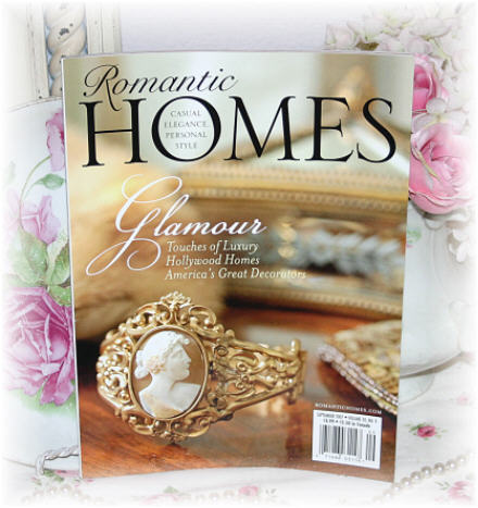 ~ Romantic Homes September Issue ~