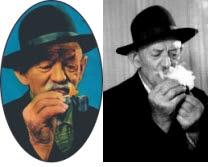 Il nonno Felice Pagot