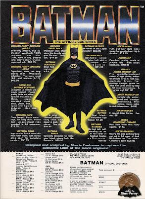 Batman Costume & Under the Giant Penny: Batman Costume