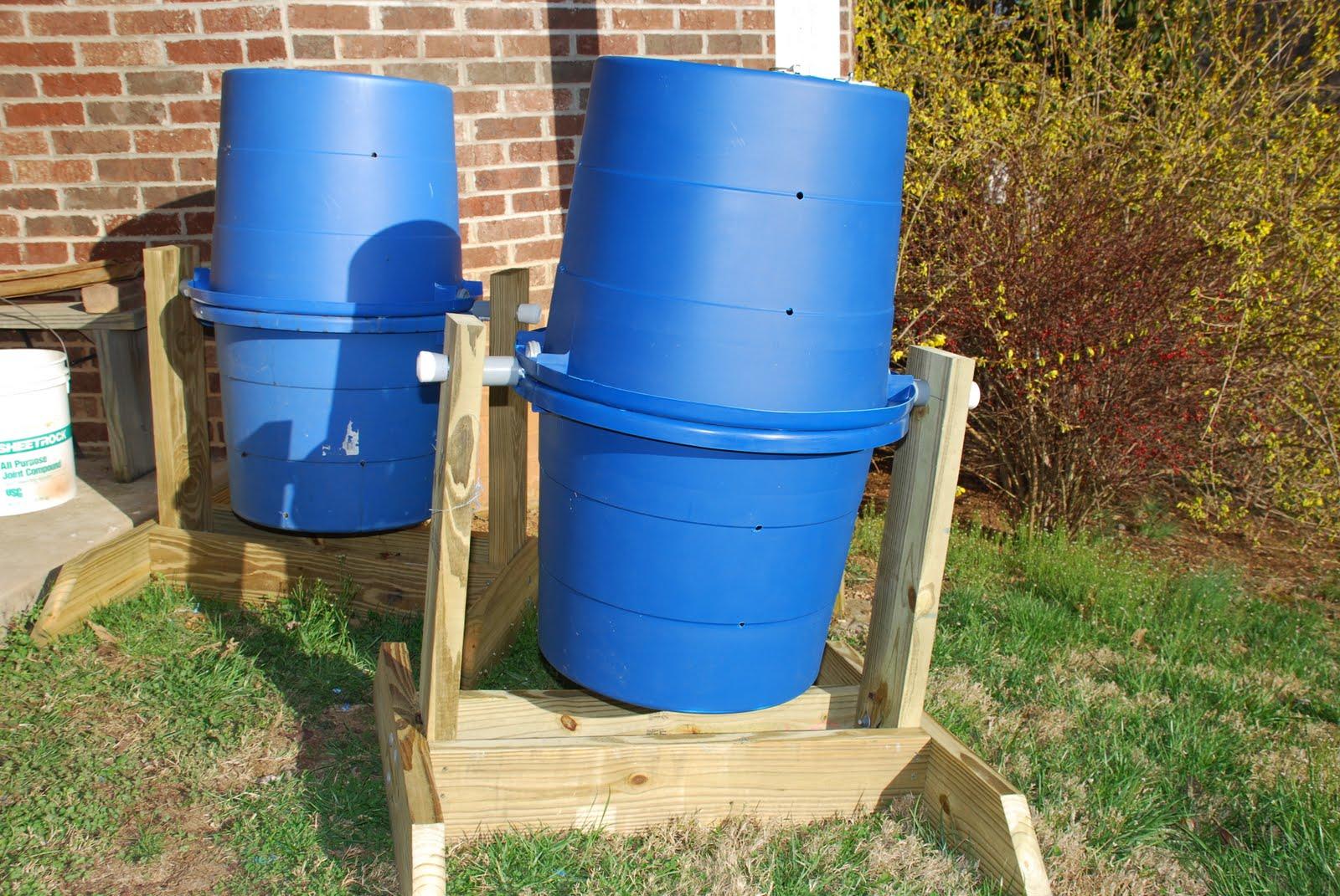 Homemade Compost Tumbler 3