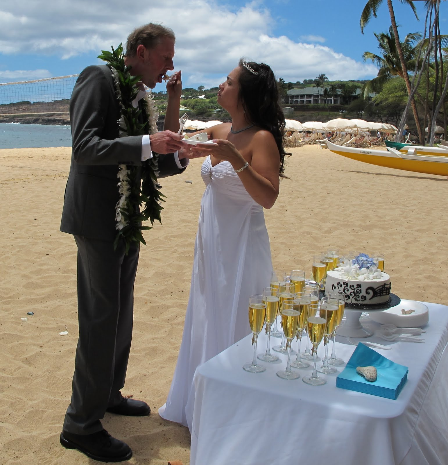 Beach Wedding Ceremony Playlist: Hawaiian Island Wedding Planners: Lanai Wedding Ceremony