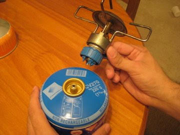 Safely Gathered In: How To: Use a Backpacking Stove