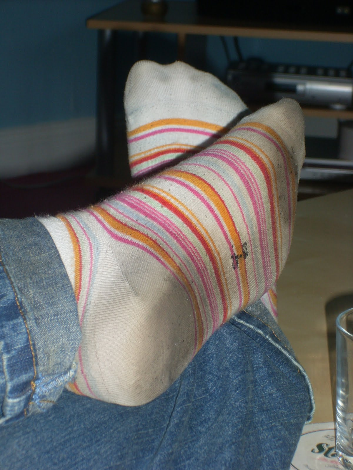 Worship Her Dirty Teen Socks 58