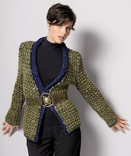 veste tricot gedifra