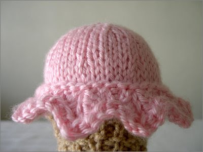 patron glace tricot
