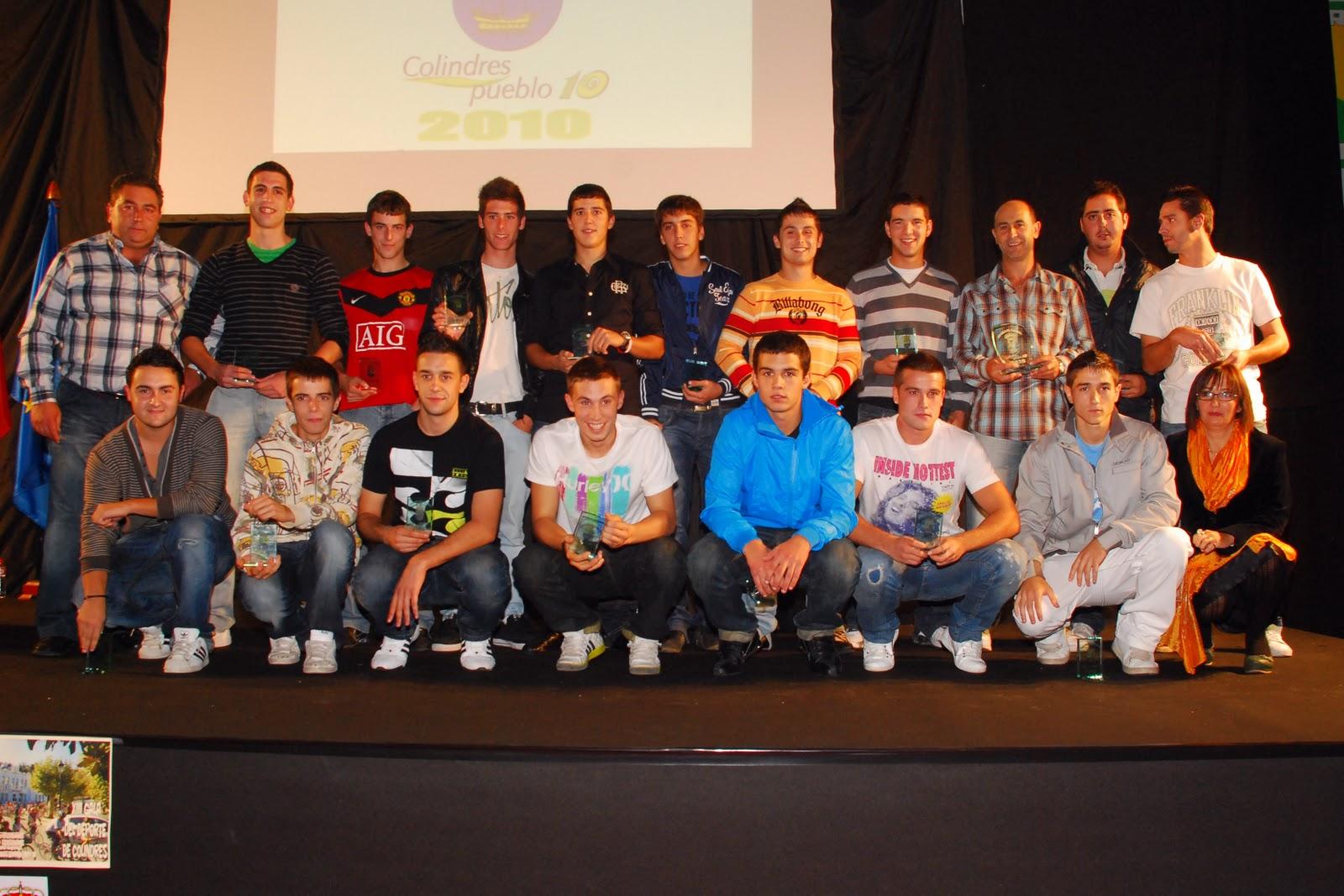 Gala Del Deporte De Colindres 2010 Equipos
