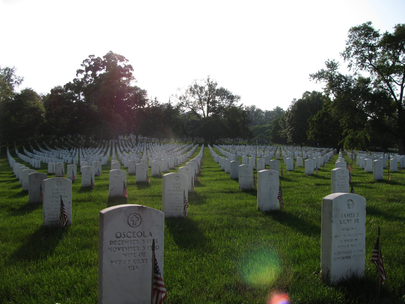 The View Is Askew Arlington National Cemetery Problems