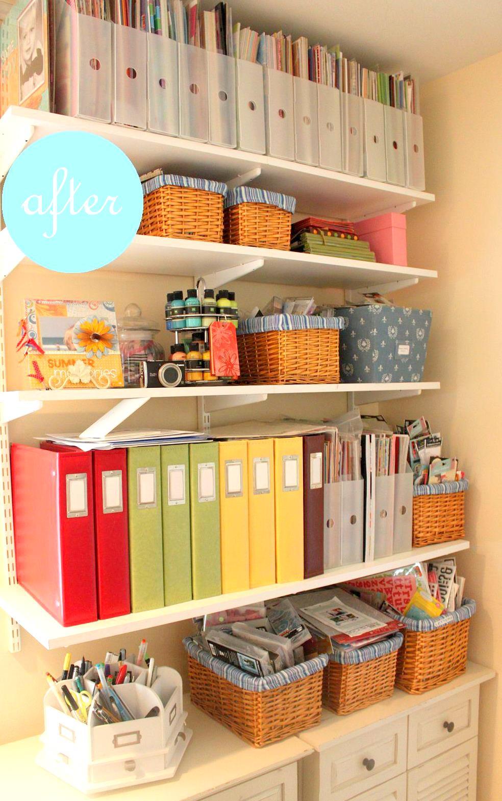 deliciously organized: Project: Office Organization - Office Organization Ideas