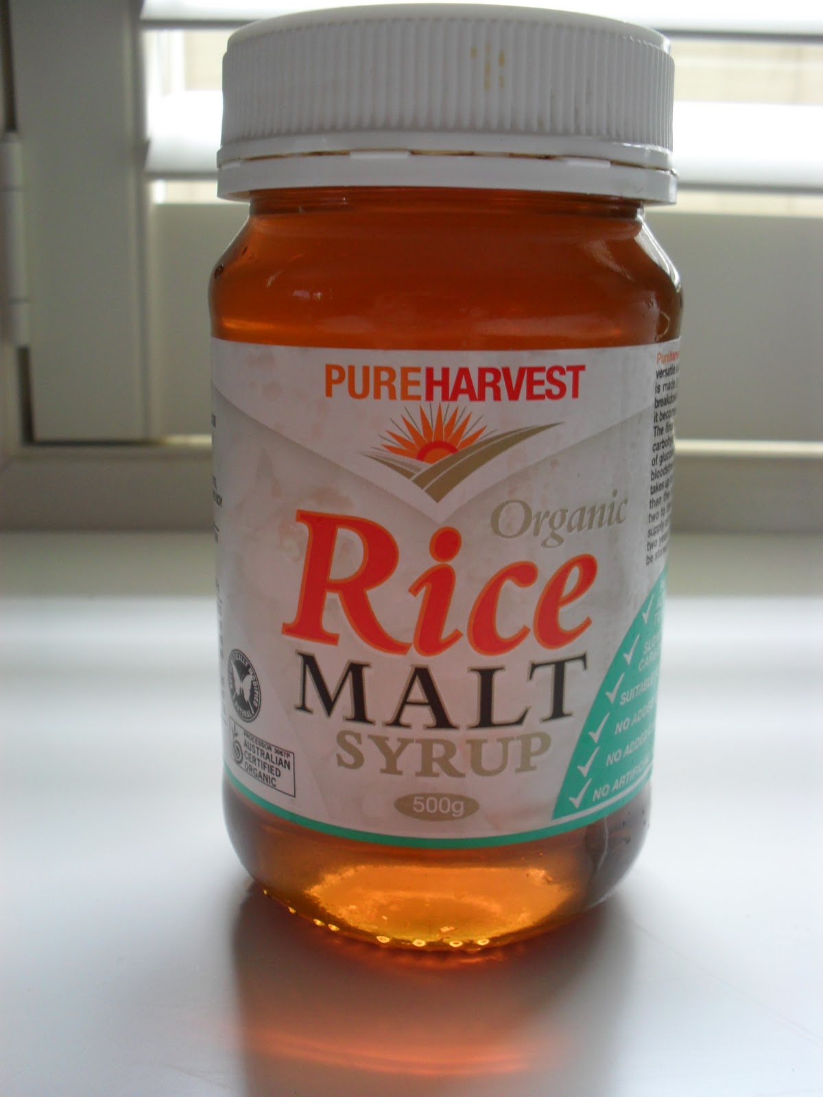 what is a substitute for rice malt syrup