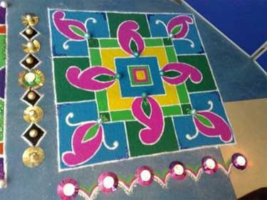 Pongal Kolam Pictures Simple Kolam Designs And Ideas For