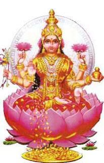 goddess dhanalakshmi