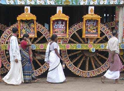 Puri Jagannath Rath Yatra Chariots in Numbers - Height - Length - Wood