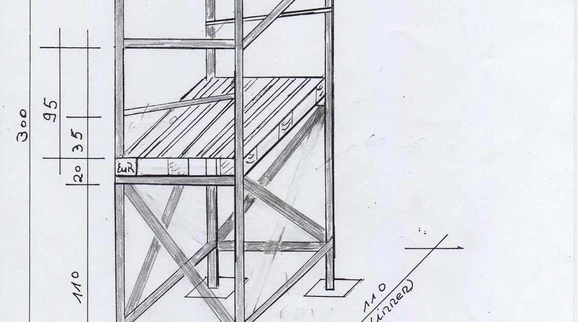 jagd blog das etwas andere jagdtagebuch mobiler und preiswerter ansitzbock zum selberbauen. Black Bedroom Furniture Sets. Home Design Ideas