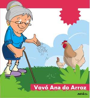 Vovó Ana do Arroz - Por Dalinha Catunda / Rio de Janeiro