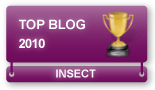 Voted Best Insect Blog in 2010