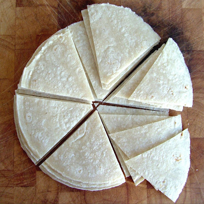 Corn+tortillas Day 23: Black Bean Soup, Corn Tortilla Chips & Guacamole