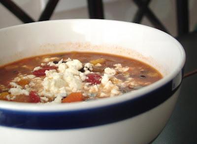 Black+Bean+Soup Day 25: Black Bean Soup (again)