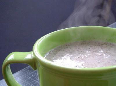 Mushroom+Soup Day 42: Creamy Mushroom Soup