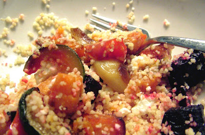Veg+Couscous+2 Day 44: Roasted Veg with Couscous and Feta