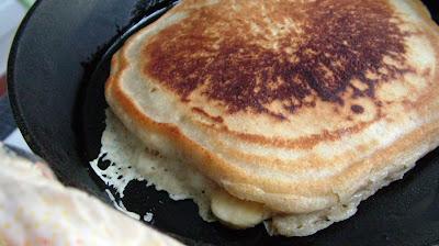 Pancakes+cooking Day 45: Pancakes