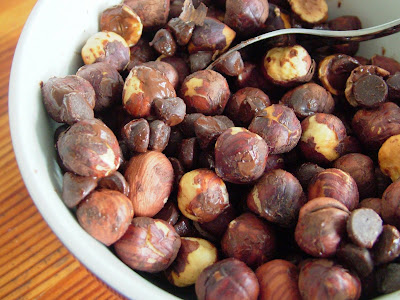 Chocolatey+hazelnuts Day 65: Pizza from Sobeys & Chocolate Covered Hazelnuts