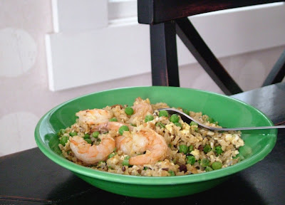 Curried+Shrimp+fried+rice Day 121: Curried Shrimp Fried Rice
