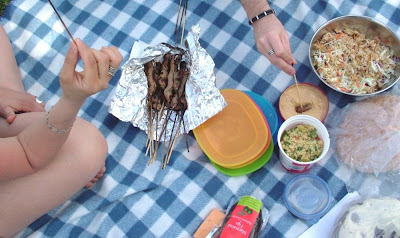 Picnic Day 136: Pork Satay with Peanut Sauce