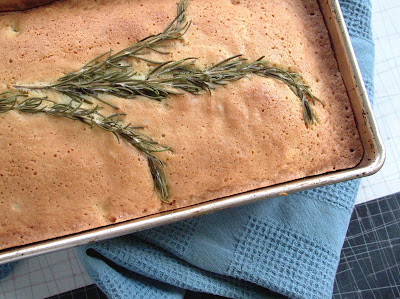 Rosemary+lemon+cake Day 144: Lemon Rosemary Olive Oil Cake, then tapas at Velvet