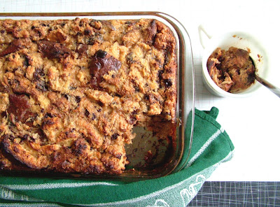 Bread+pudding+2 Day 147: Leftover Roast Chicken and Coffee & Chocolate Bread Pudding