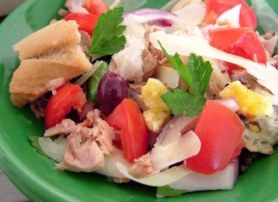 Pan+bagnat+panzanella Day 172: Pan Bagnat Panzanella Salad