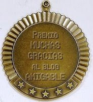 "PREMIO: ""Blog amigable"""