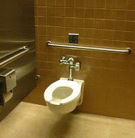 stall toilet
