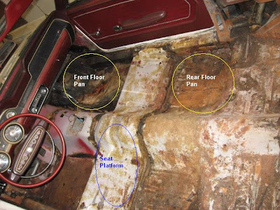 1968 mustang convertible restoration well doc how bad for 1968 mustang floor pan replacement