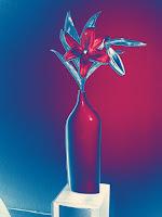 ´Övertoning blå-vit-röd
