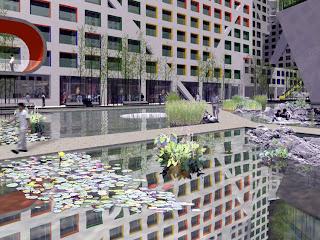 Linked Hybrid, Beijing, Steven Holl Architects