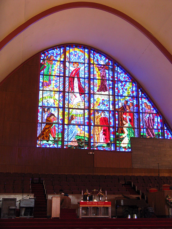 alter, Liberty Baptist Church, Chicago