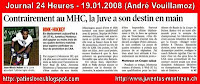 Article 24 Heures 19.01.08